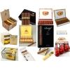 Европейские сигареты,  сигариллы,  сигары,  табак в ассортименте - DUTY FREE