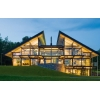 Строительство,  проектирование деревянных эко-домов из клееного бруса,  дома фахверк